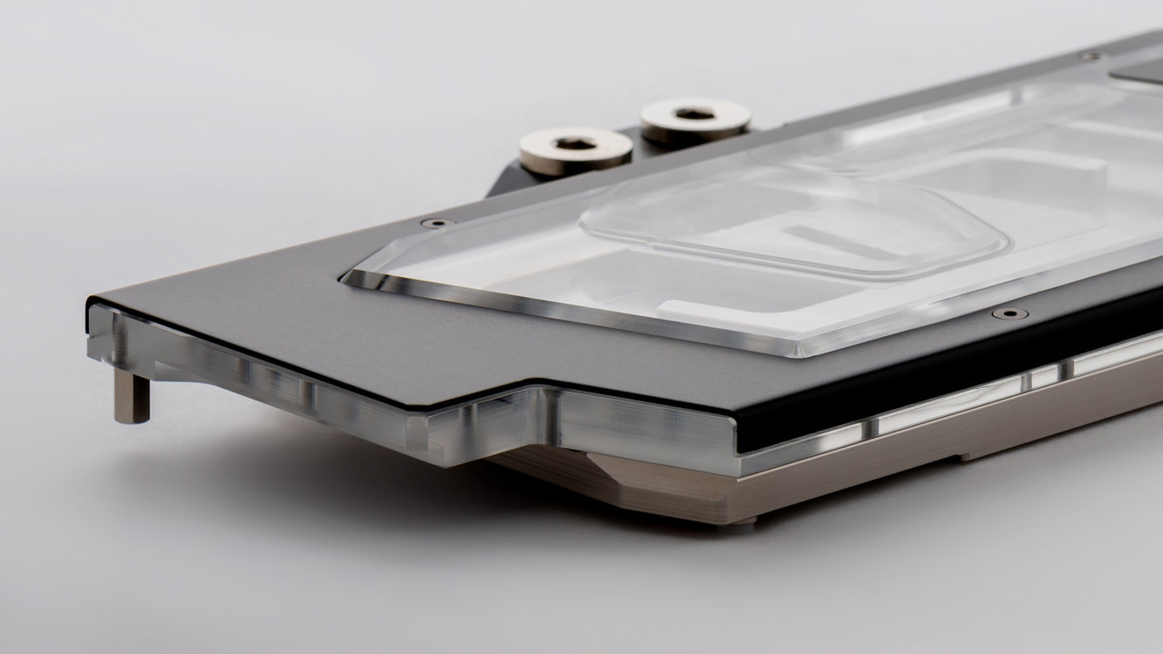 Heatkiller IV für RTX 2080 (Ti): Watercool kühlt Turing mit 800 Gramm Kupfer