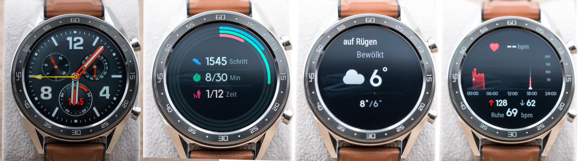 Huawei Watch GT: Schnellzugriffe
