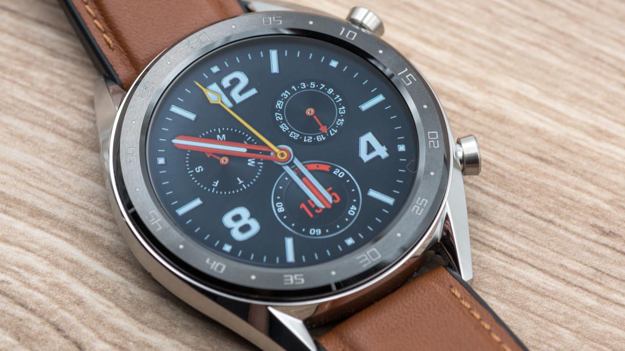 Huawei Watch GT: Software sabotiert das Display und die grandiose Laufzeit