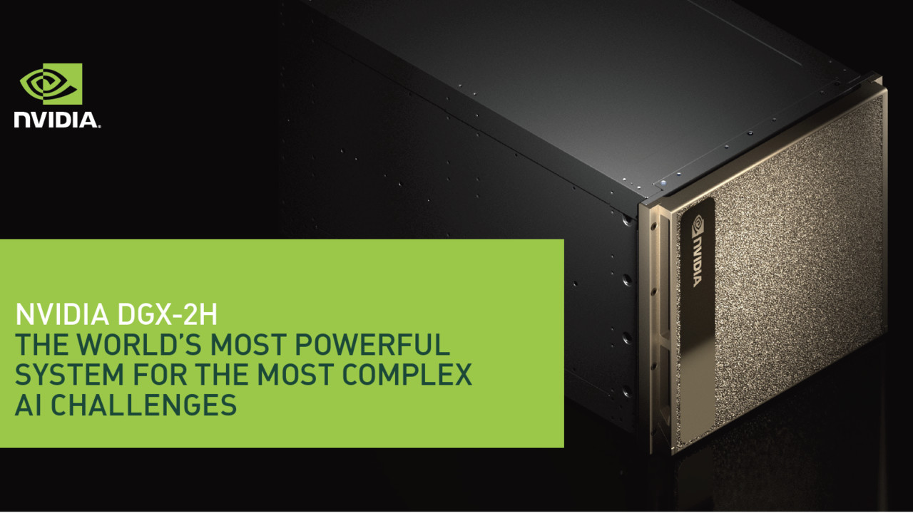 Nvidia Tesla V100: Profi-Lösung von Nvidia nun auch mit 450 Watt