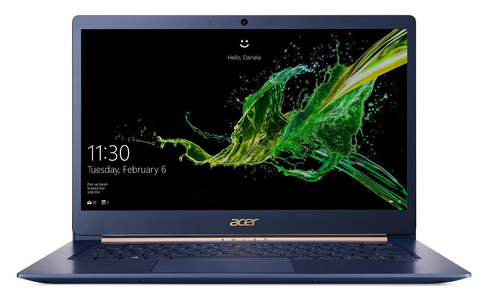Das Acer Swift 5 14 Zoll in Blau