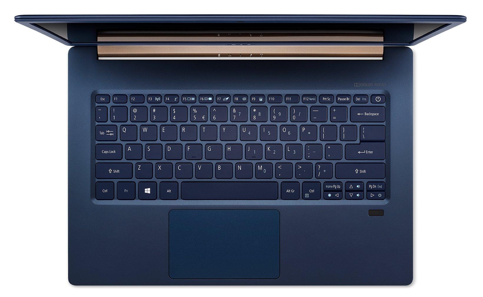 Das Acer Swift 5 14 Zoll in Blau