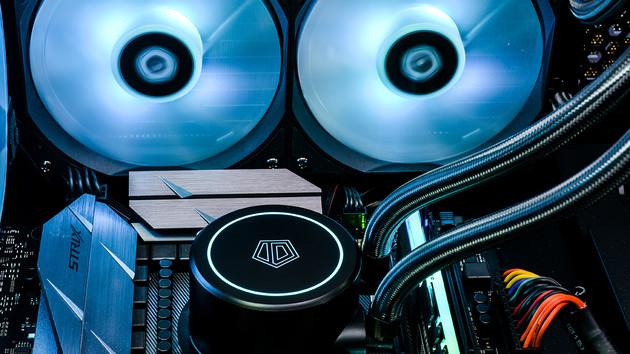 ID-Cooling Auraflow X 240: Wasserkühlung mit RGB liegt preislich unter der Konkurrenz