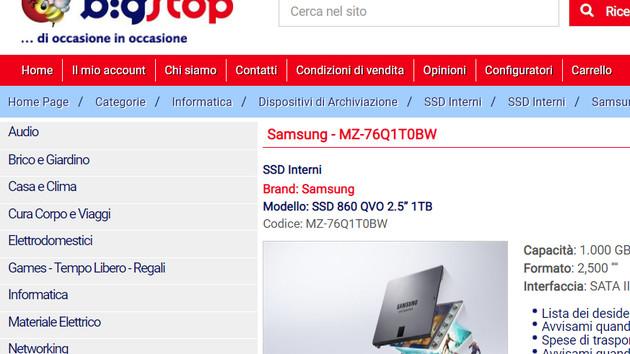 860 QVO: Händler enthüllen Samsungs erste QLC‑SSD