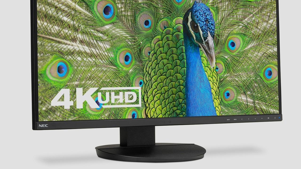 NEC MultiSync EA271U: Profi-Monitor mit Ultra HD, IPS und USB C