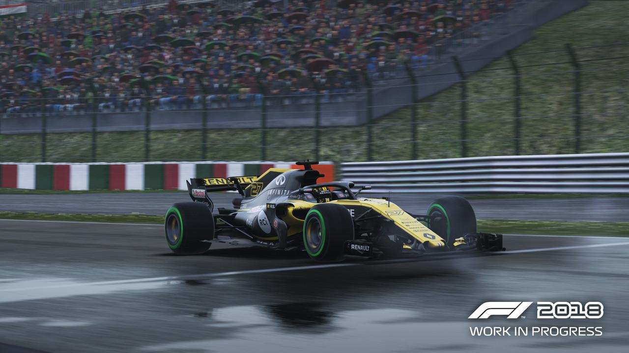 F1 2018: DirectX 12 verbessert die Leistung bei AMD-Grafikkarten
