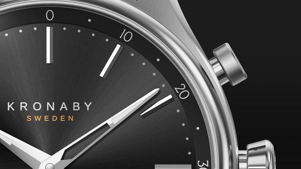 Kronaby Smartwatch: 20 Prozent Nachlass und gratis Armband