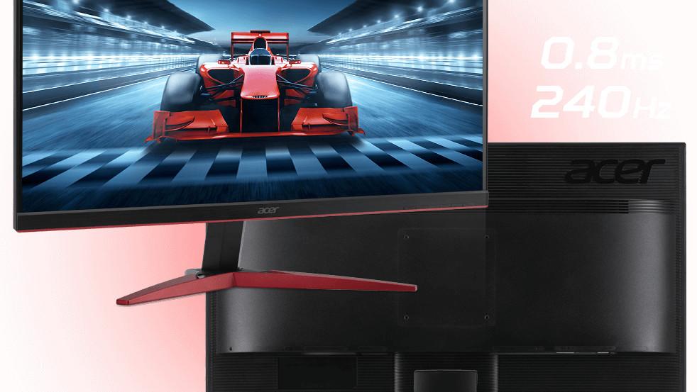 KG1 Gaming Displays: Acer-Monitore mit <1ms Reaktionszeit starten in Japan