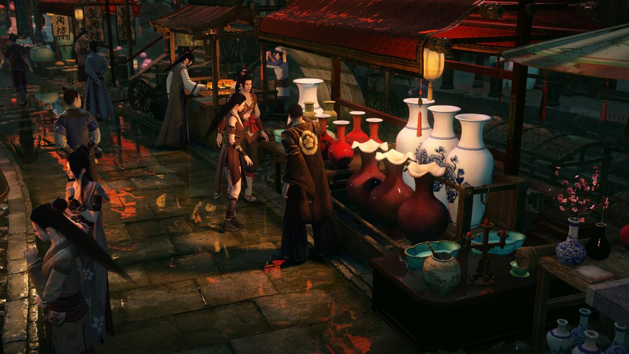 Justice Online: Raytracing und DLSS für chinesisches MMORPG