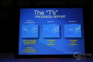 """Mit den """"T's"""" möchte Intel den Computer besser machen"""