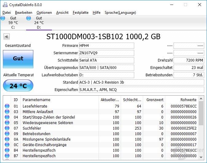 HDD im 3,5-Zoll-Format von Seagate