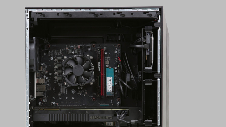 HP Omen Obelisk Gaming-PC im Test - ComputerBase