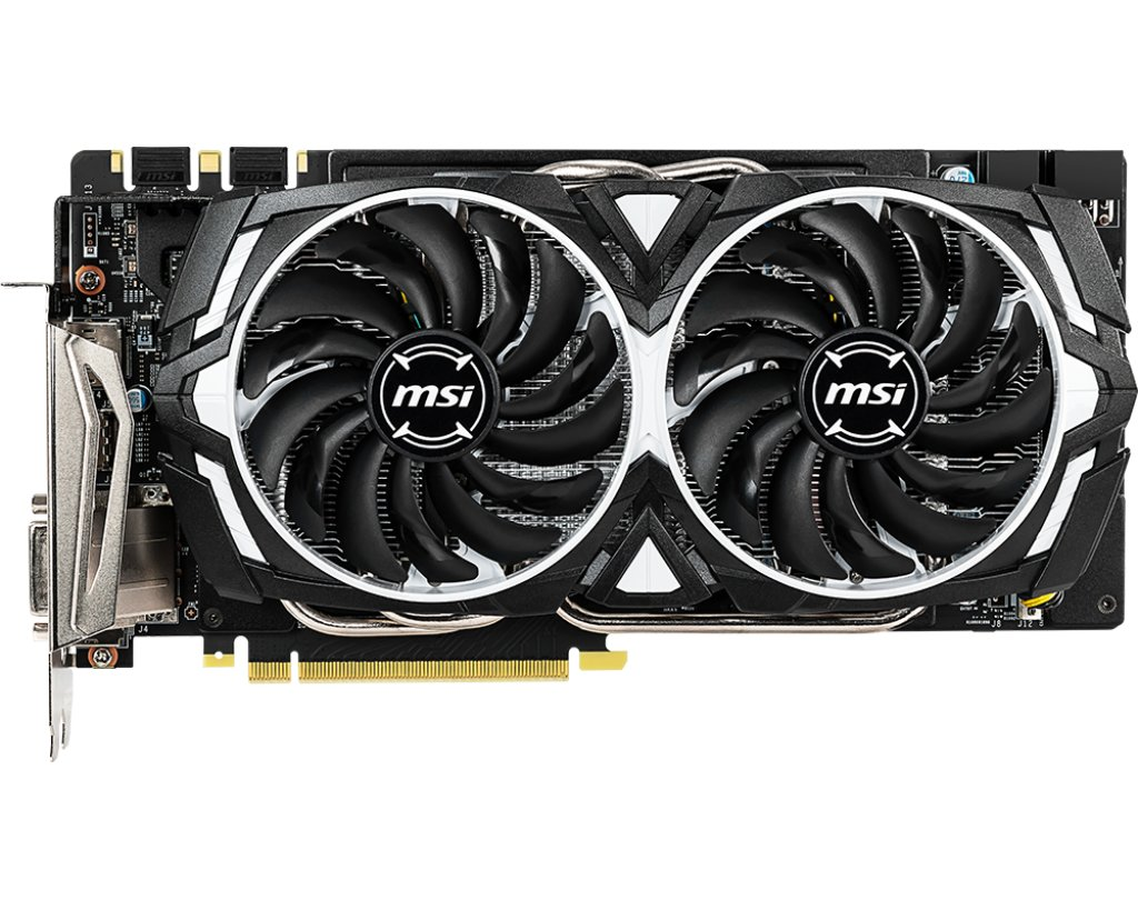 MSI GeForce GTX 1060 Armor 6GD5X OC