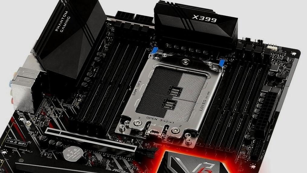 X399 Phantom Gaming 6: X399-Mainboard von ASRock mit 2.5-GBit-LAN für 261 Euro