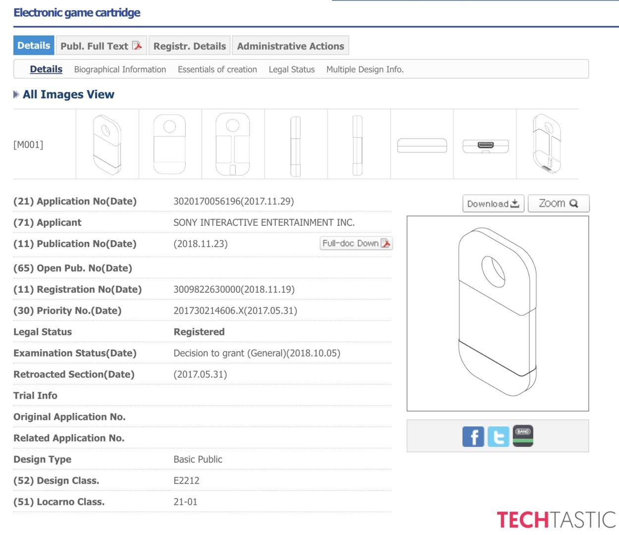 Patentantrag von Sony zu einer neuen Spiele-Cartridge