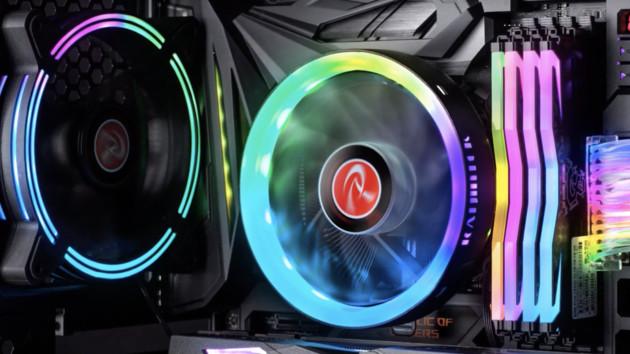 Raijintek Juno Pro RBW: Flacher CPU-Kühler mit rundem RGB-Rahmen