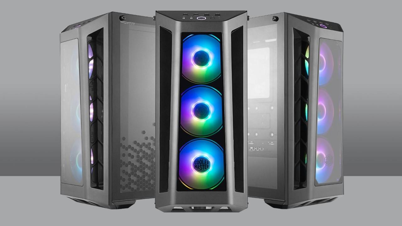 MasterBox MB530P: Cooler Master beleuchtet viel Glas mit Lüftern
