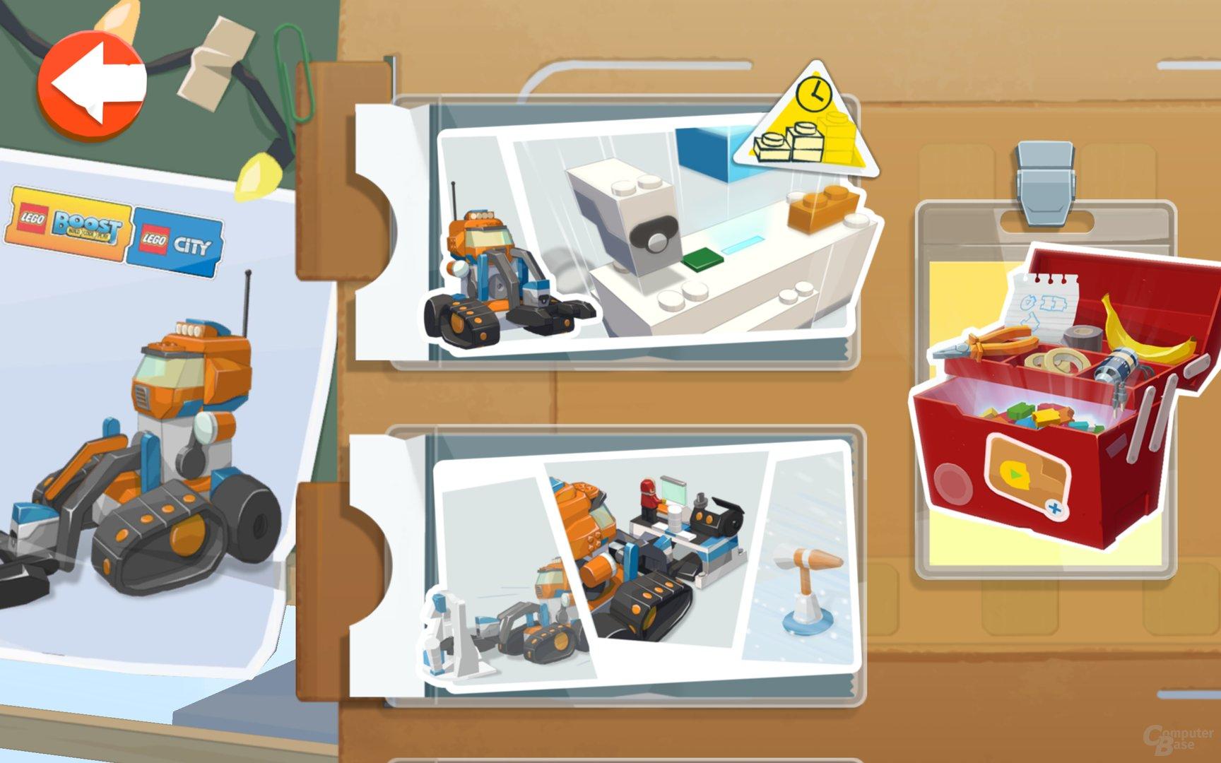 Der erweiterte Lego Arktis-Erkundungstruck 60192 im Boost-System