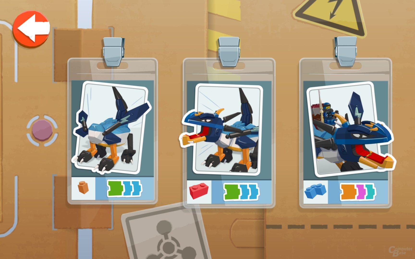 Per Boost-System wird der Ninjago Blitzdrache 60952 von Lego zu einem imposanten Geschöpf