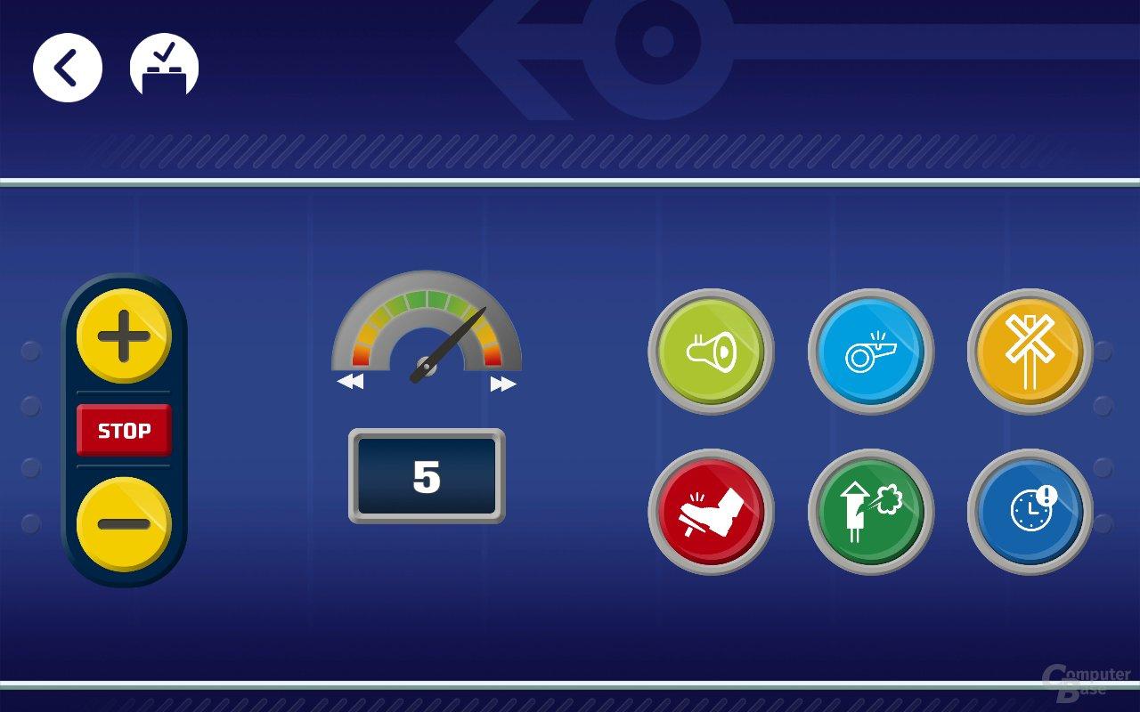Die Powered-Up-App für den neuen Personenzug 60197