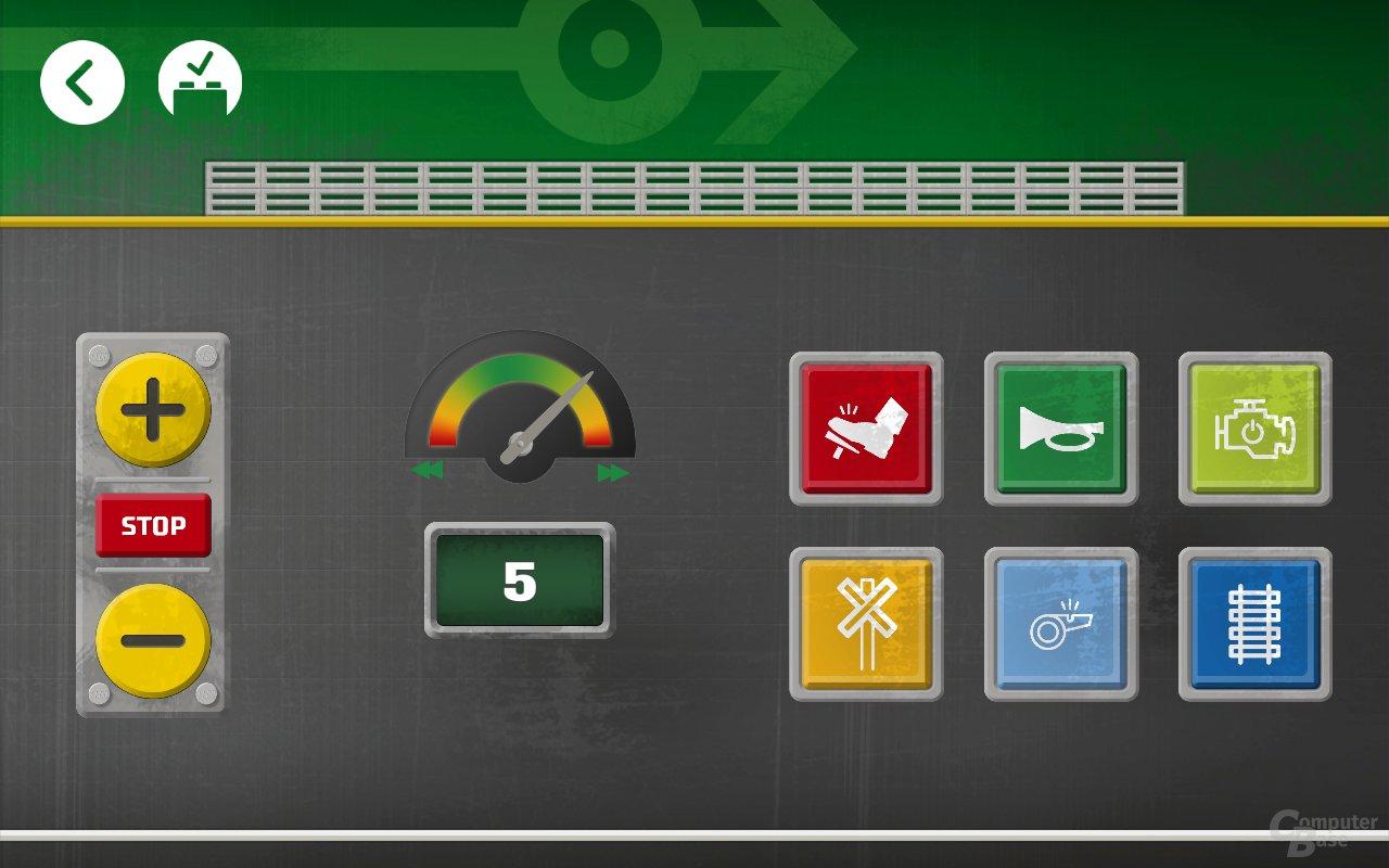 Die Powered-Up-App für den neuen Güterzug 60198