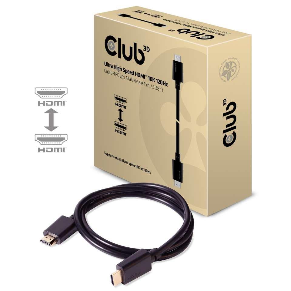 Erste HDMI-2.1-Kabel von Club 3D