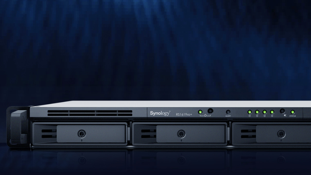 RS1619xs+ und DS1819+: Synology packt Xeons nun auch in 1HE-RackStation