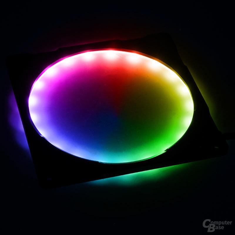 RGB-LED-Lüfterrahmen von Phanteks