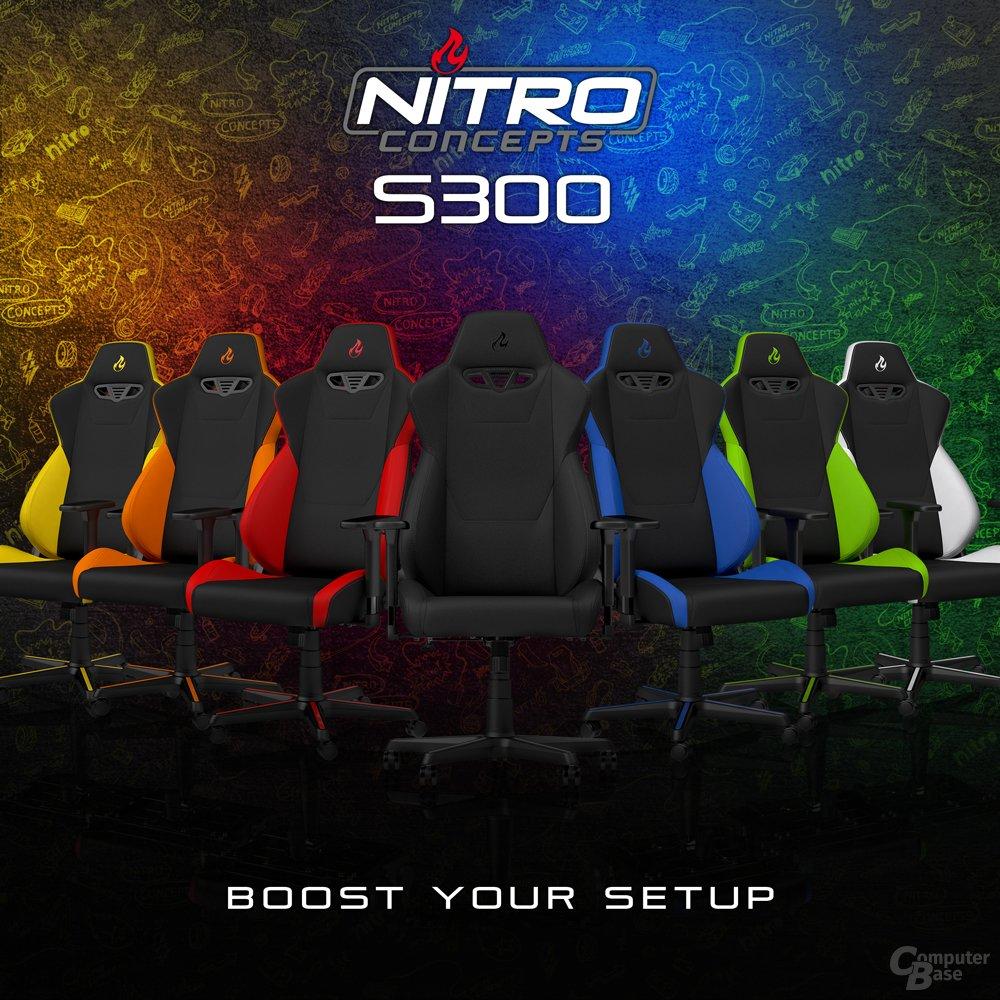 Ergonomischer Gaming Chair in neun Farben