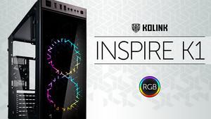 Kolink Inspire K1 RGB: RGB und Glas kosten 50 Euro und Breite