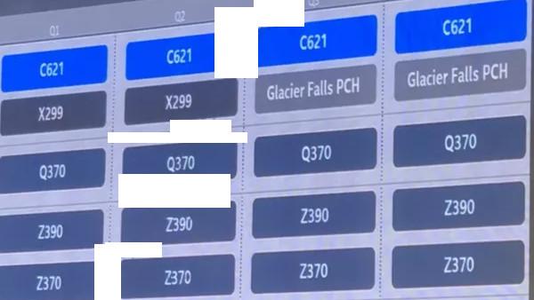 Intel Cascade Lake-X: Start mit Glacier-Falls-PCH-Mainboard in Q3/2019