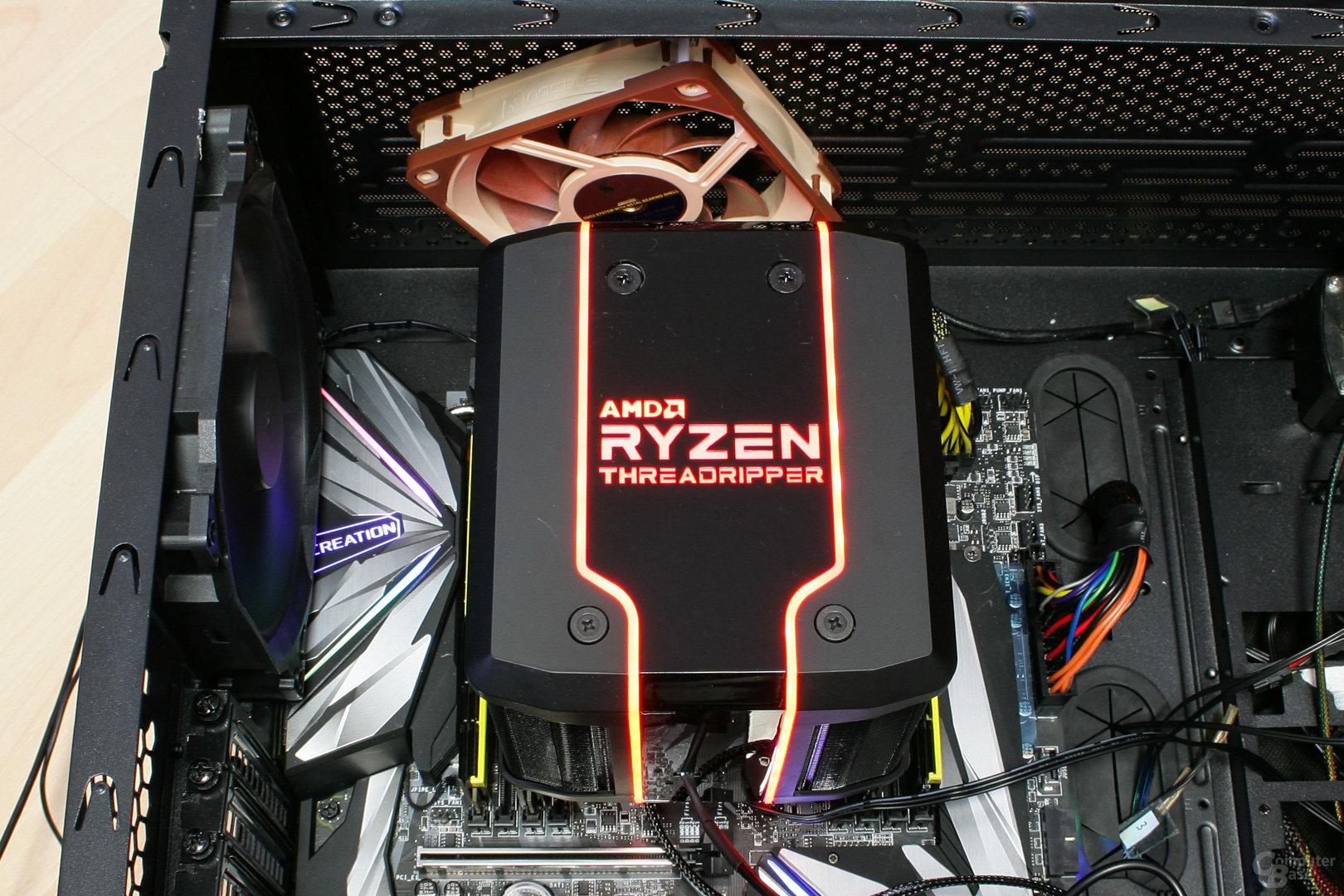 Cooler Master Wraith Ripper im Testsystem