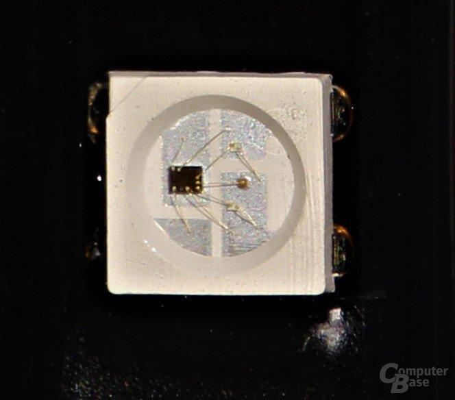 RGB-LED mit WS2812B Controller