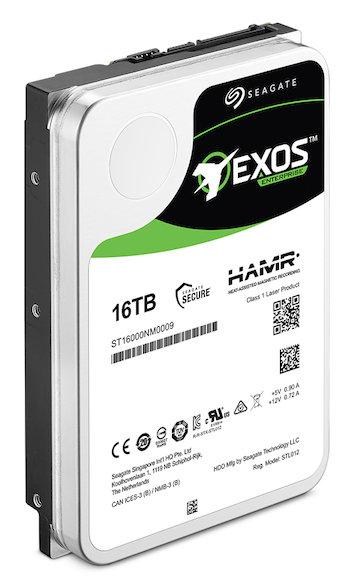 Seagate Exos HDD mit HAMR und 16 TB (Vorserienmodell)