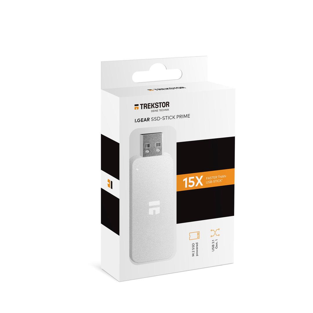 i.Gear SSD-Stick Prime als USB-Stick mit interner M.2-SSD