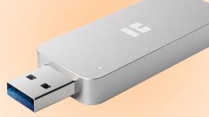 i.Gear SSD-Stick Prime: TrekStors externe SSD ist so kompakt wie ein USB-Stick