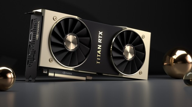 Nvidia Turing: Titan RTX mit vollem TU102 und 24 GB GDDR6 für 2.699 €