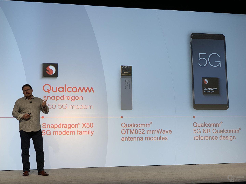 Qualcomm sieht sich mit vollständiger 5G-Kette gut aufgestellt