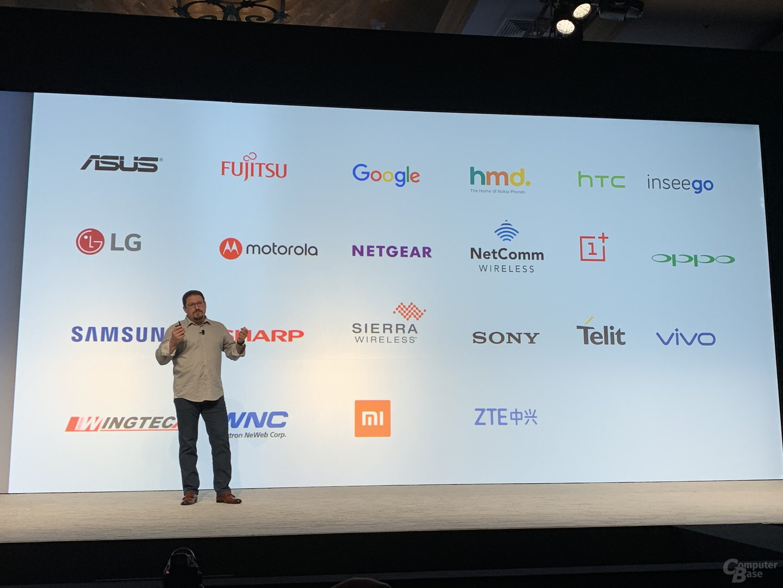 Partner von Qualcomm für 5G-Geräte im kommenden Jahr