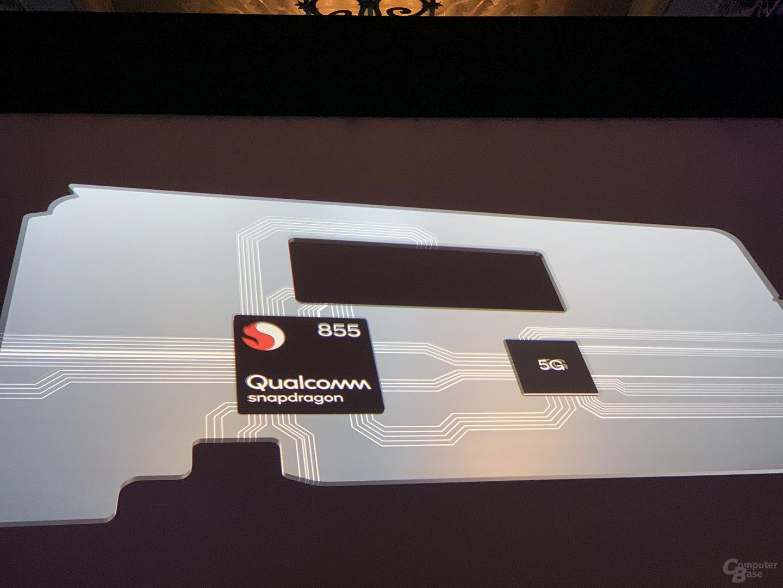 Der Snapdragon 855 ist eine Zwei-Chip-Lösung