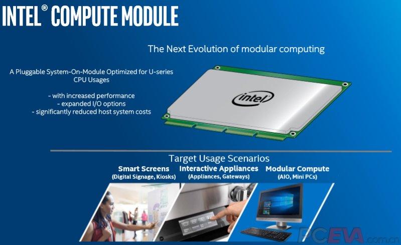 Intel Compute Module für IoT und AiO