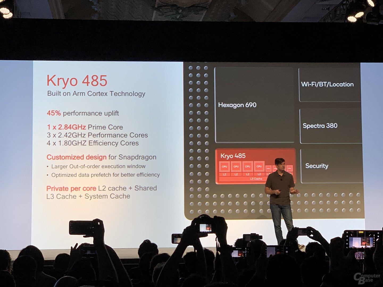 Dem Kryo 485 spendiert Qualcomm einen Prime Core