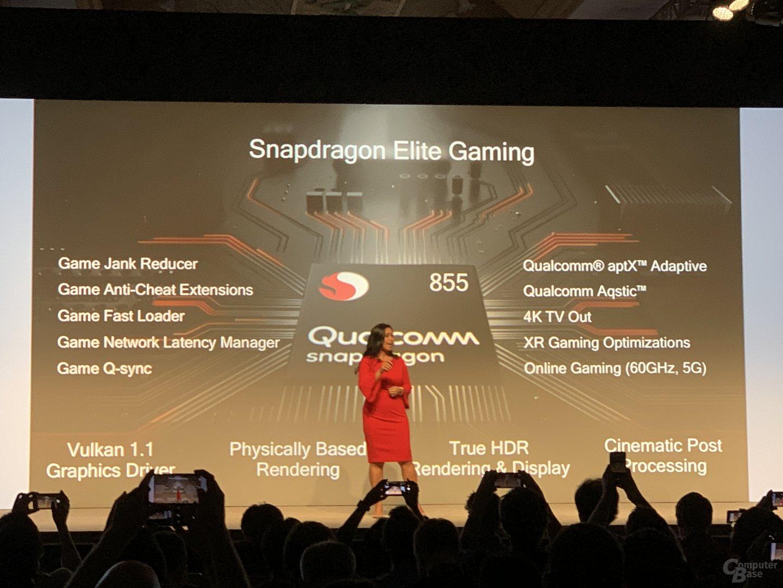 Snapdragon Elite Gaming vereint verschiedene Features speziell für Spiele