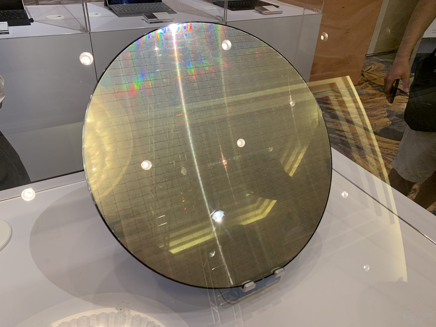 TSMC-Wafer mit Snapdragon 8cx