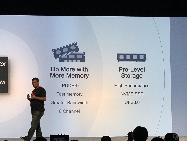 DRAM- und Speicheranbindung des Snapdragon 8cx