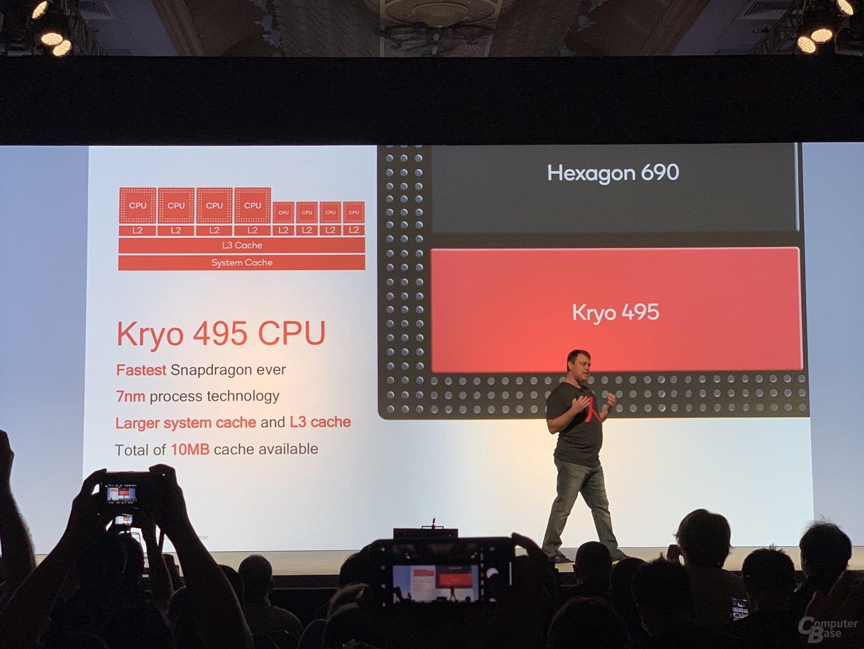 Kryo 495 des Snapdragon 8cx