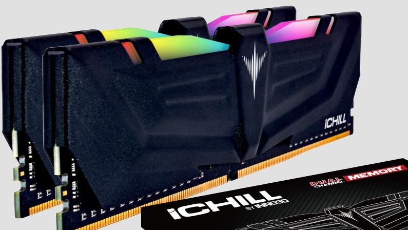Inno3D: iChill-Speicher mit bis zu DDR4-4000 und Aura-RGB