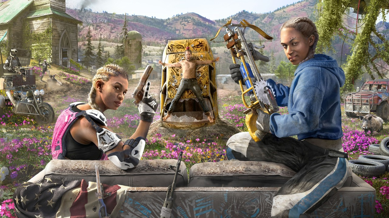 Far Cry New Dawn: Far Cry 5 wird als bunte Postapokalypse fortgesetzt