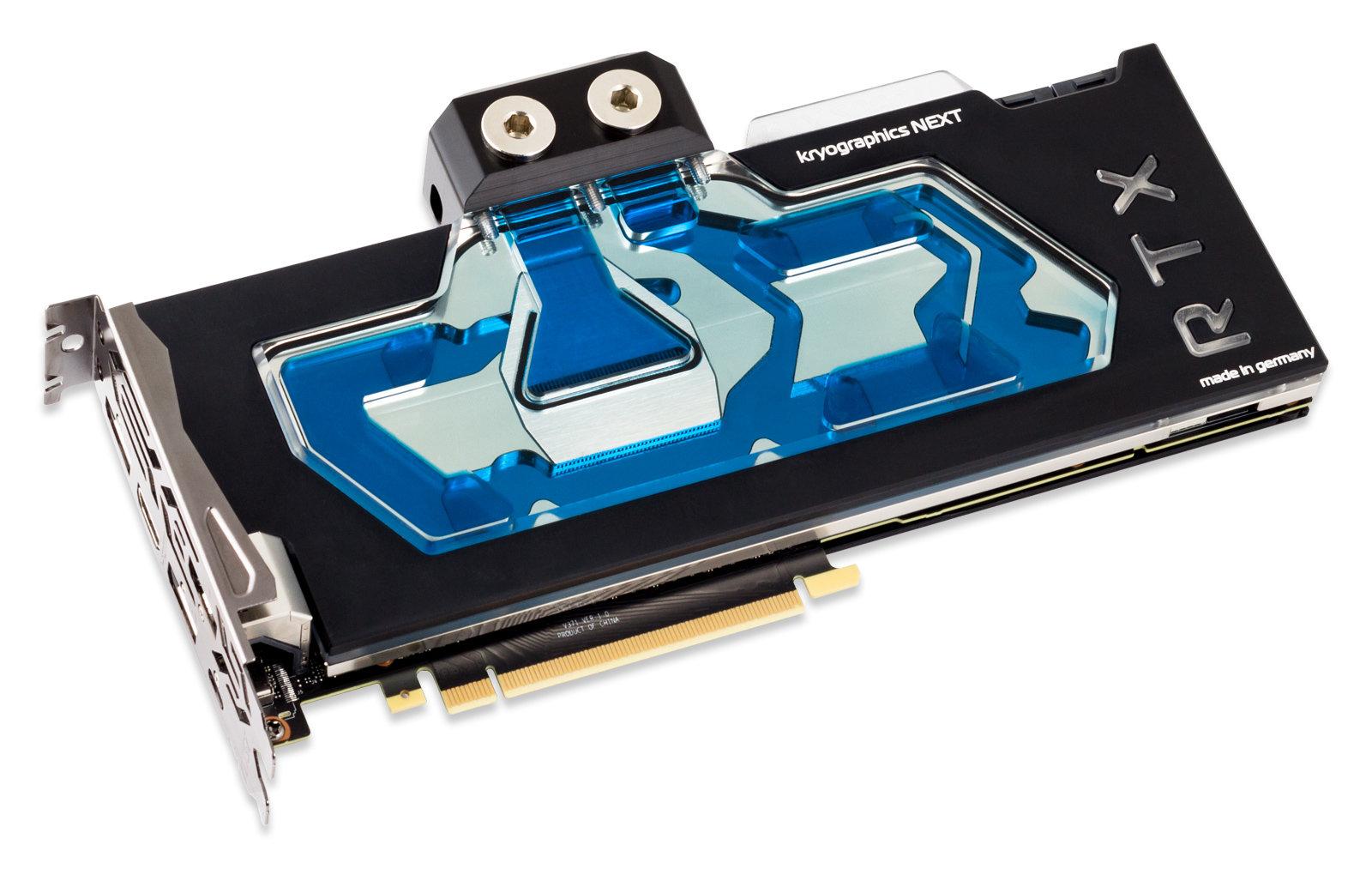 Aqua Computer Kryographics Next RTX 2080 Ti