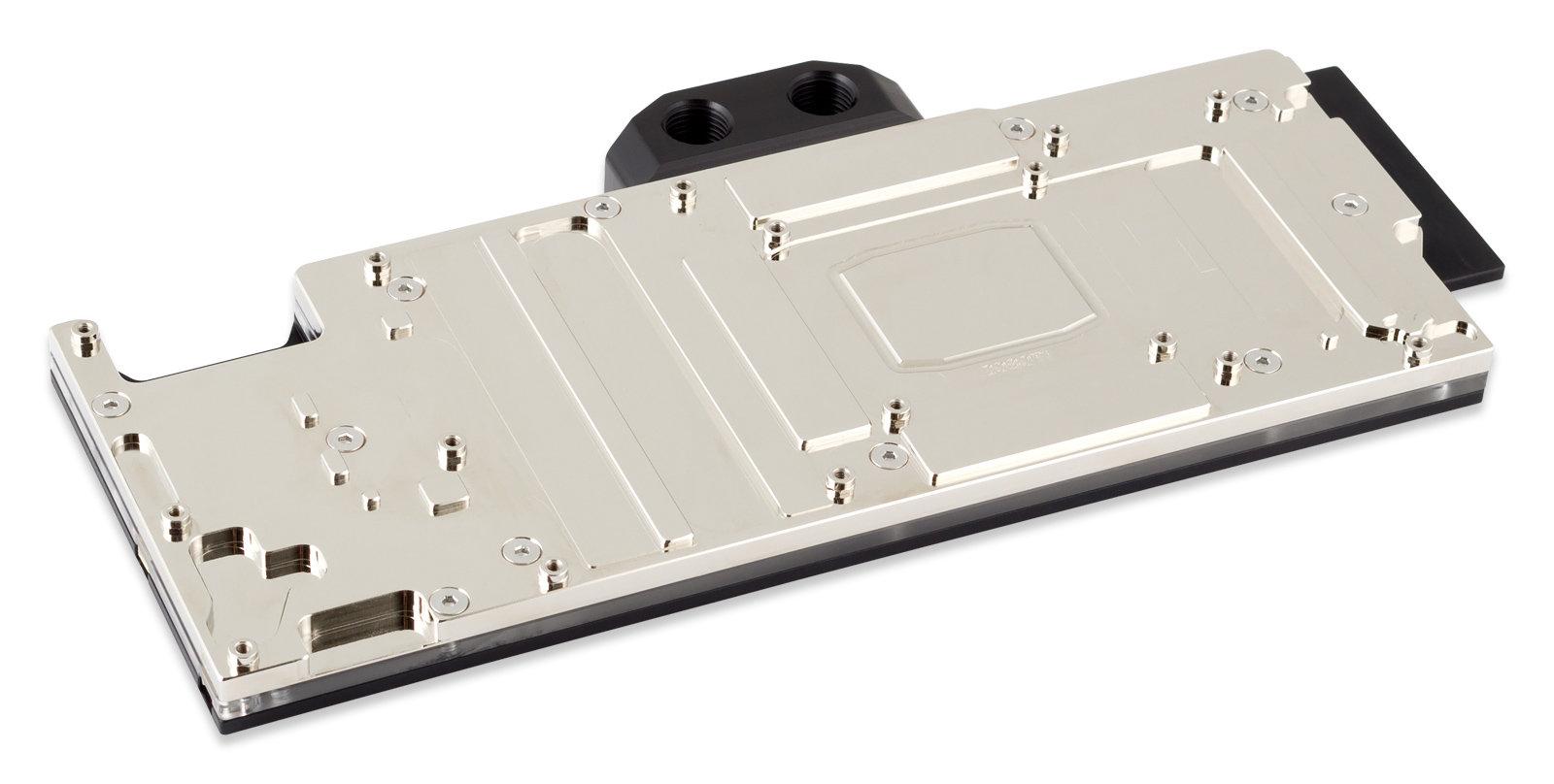 Aqua Computer Kryographics Next RTX 2080 Ti in der vernickelten Variante